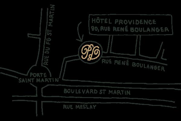Plan Hôtel